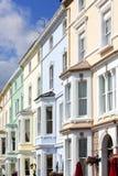 Maisons de ville victoriennes chez Llandudno photographie stock libre de droits