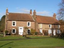Maisons de Yorkshire Images libres de droits