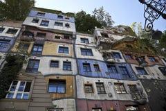 Maisons des gens à Vienne Photos libres de droits