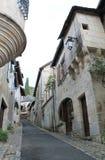 Maisons Duche et Livet, Turenne ( France ) Stock Photos