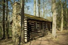 Maisons en bois de châtaigne Photographie stock libre de droits