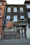 Maisons en bois traditionnelles, Istanbul Images stock