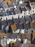 Maisons en terrasse Photos stock