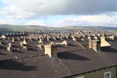 Maisons en terrasse Photos libres de droits