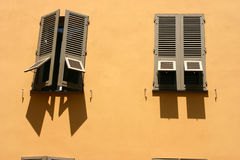 Maisons et constructions corses Photographie stock libre de droits