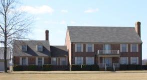 maisons extérieures modernes Photo stock