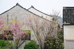 Maisons folkloriques chinoises Image libre de droits