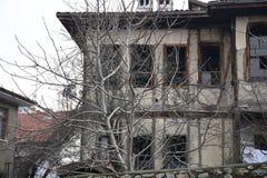Maisons historiques de tabouret, Safranbolu, Turquie Photographie stock libre de droits