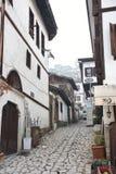 Maisons historiques de tabouret, Safranbolu, Turquie Image stock