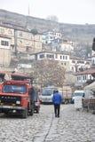 Maisons historiques de tabouret, Safranbolu, Turquie Image libre de droits