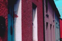 Maisons irlandaises photo stock