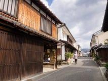 Maisons japonaises traditionnelles Images libres de droits