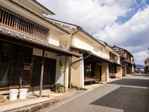 Maisons japonaises traditionnelles Photo stock