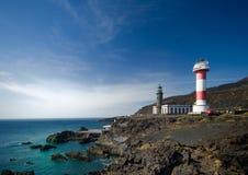 Maisons légères en EL Faro Photographie stock libre de droits