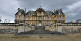 Maisons Laffitte, France - april 4 2016 : castle Royalty Free Stock Photography