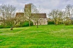 Maisons Laffitte, France - april 4 2016 : church Stock Photos