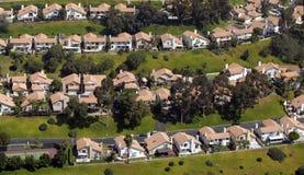 Maisons méridionales de la Californie Photographie stock libre de droits