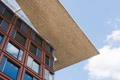 Maisons modernes aux Pays-Bas Photos libres de droits