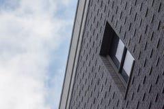 Maisons modernes aux Pays-Bas Photographie stock