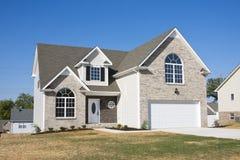 Maisons neuves à vendre Photo stock