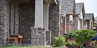 Maisons neuves Image stock