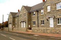 Maisons neuves de village Image stock