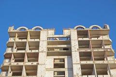 Maisons neuves étant construites Images libres de droits