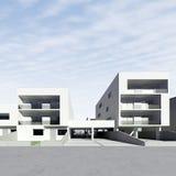 Maisons résidentielles Image libre de droits
