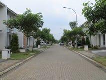 Maisons résidentielles dans Serpong Photo stock