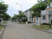 Maisons résidentielles dans Serpong Photos libres de droits