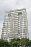 Maisons résidentielles d'immeubles Photo stock