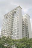 Maisons résidentielles d'immeubles Image libre de droits