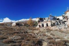 Maisons ruinées Photos libres de droits