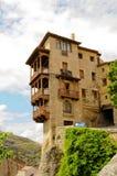 Maisons s'arrêtantes de Cuenca Photographie stock libre de droits