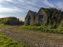 Maisons sur la voie de stoney photo libre de droits