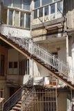 Maisons, Tbilisi, la Géorgie, l'Europe Photos stock