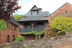 Maisons traditionnelles, Collonges-la-Rouge ( France ) Stock Images