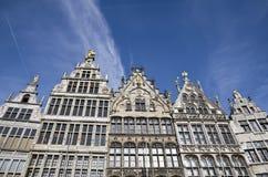 Maisons traditionnelles dans Anwerp, Belgique Photos libres de droits