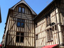 Maisons traditionnelles, Troyes ( France ) Royalty Free Stock Images