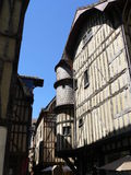 Maisons traditionnelles, Troyes ( France ) Stock Photography
