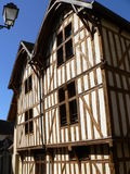 Maisons traditionnelles, Troyes ( France ) Stock Image