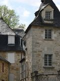 Maisons traditionnelles, Turenne ( France ) Stock Image