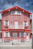 Maisons types de nova de côte Photo stock