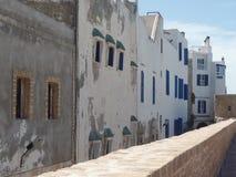Maisons typiques dans Essaouira, Maroc images libres de droits