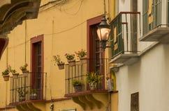 Maisons typiques de Guanajuato, Mexique Photographie stock libre de droits