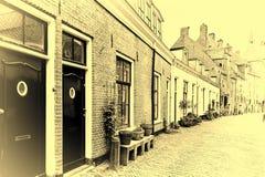 Maisons typiques en Hollande Images stock