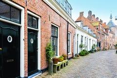 Maisons typiques en Hollande Image stock