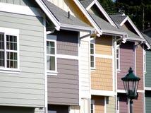 Maisons urbaines Image stock
