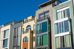 Maisons urbaines de luxe Photos stock