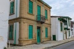 Maisons urbaines de tabouret, Nicosie, Chypre Photographie stock